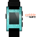 The Turquoise Mosaic Tiled Skin for the Pebble SmartWatch