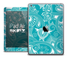 The Turquoise Paisley Pattern Skin for the iPad Air