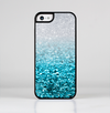 The Turquoise & Silver Glimmer Fade Skin-Sert for the Apple iPhone 5c Skin-Sert Case