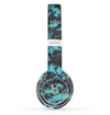 The Turquoise and Gray Digital Camouflage Skin Set for the Beats by Dre Solo 2 Wireless Headphones