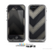 The Two-Toned Dark Black Wide Chevron Pattern Skin for the Apple iPhone 5c LifeProof Case