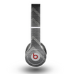 The Two-Toned Dark Black Wide Chevron Pattern V3 Skin for the Beats by Dre Original Solo-Solo HD Headphones