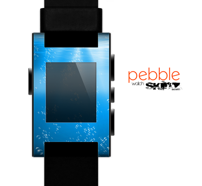 The Under The Sea Skin for the Pebble SmartWatch