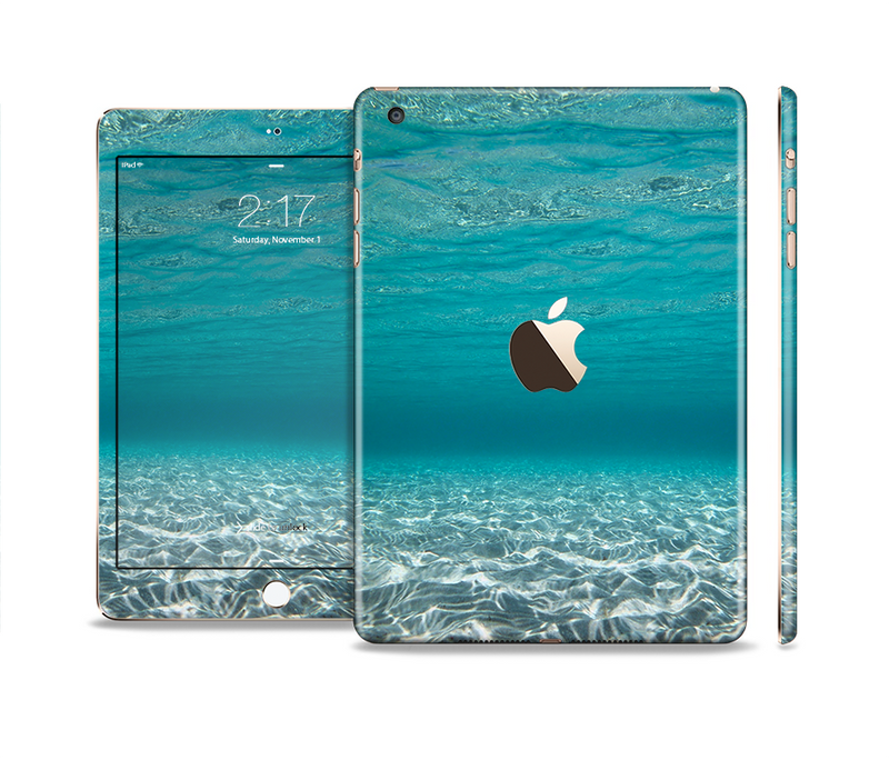 The Under The Sea V3 Scenery Full Body Skin Set for the Apple iPad Mini 3