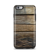 The Uneven Dark Wooden Planks Apple iPhone 6 Plus Otterbox Symmetry Case Skin Set