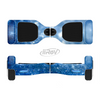 The Unfocused Blue Sparkle Full-Body Skin Set for the Smart Drifting SuperCharged iiRov HoverBoard