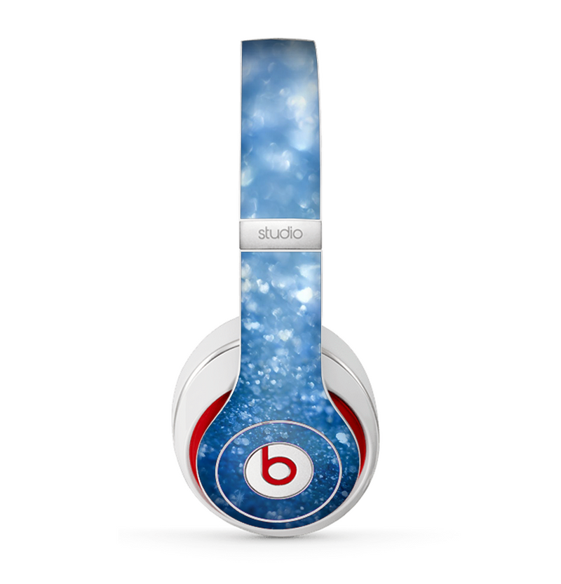 The Unfocused Blue Sparkle Skin for the Beats by Dre Studio (2013+ Version) Headphones