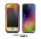 The Unfocused Color Rainbow Bubbles Skin for the Apple iPhone 5c LifeProof Case