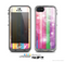 The Unfocused Color Vector Bars Skin for the Apple iPhone 5c LifeProof Case