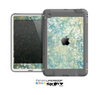The Unfocused Green & White Drop Surface Skin for the Apple iPad Mini LifeProof Case