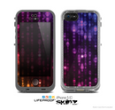 The Unfocused Neon Rain Skin for the Apple iPhone 5c LifeProof Case