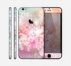 The Unfocused Pink Abstract Lights Skin for the Apple iPhone 6 Plus