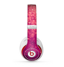 The Unfocused Pink Glimmer Skin for the Beats by Dre Studio (2013+ Version) Headphones