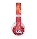 The Unfocused Red Showers Skin for the Beats by Dre Studio (2013+ Version) Headphones