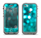 The Unfocused Subtle Blue Sparkle Apple iPhone 5c LifeProof Nuud Case Skin Set