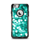 The Unfocused Teal Orbs of Light Apple iPhone 6 Otterbox Commuter Case Skin Set