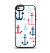 The Various Anchor Colored Icons Apple iPhone 5-5s Otterbox Symmetry Case Skin Set