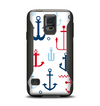 The Various Anchor Colored Icons Samsung Galaxy S5 Otterbox Commuter Case Skin Set