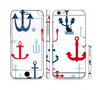 The Various Anchor Colored Icons Sectioned Skin Series for the Apple iPhone 6