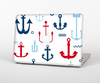 The Various Anchor Colored Icons Skin Set for the Apple MacBook Air 13""