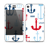 The Various Anchor Colored Icons Skin for the Apple iPhone 4-4s
