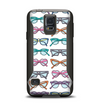 The Various Colorful Vector Glasses Samsung Galaxy S5 Otterbox Commuter Case Skin Set