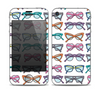 The Various Colorful Vector Glasses Skin for the Apple iPhone 4-4s