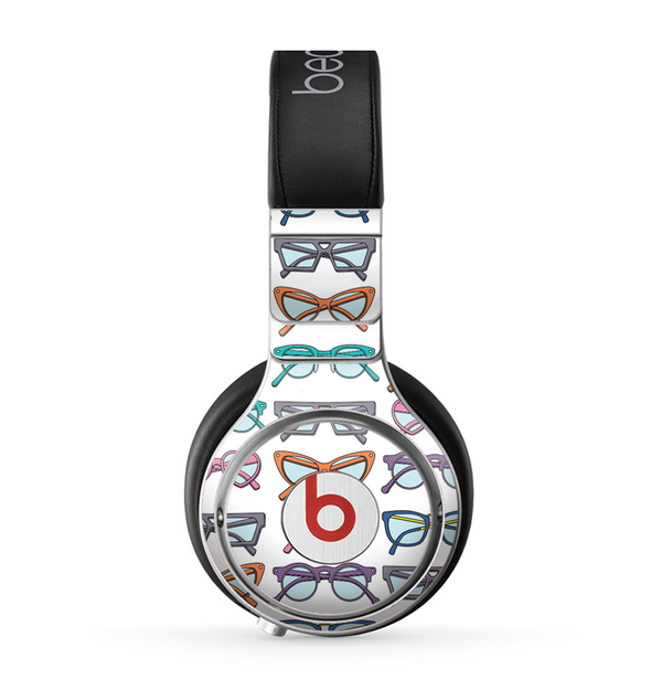 The Various Colorful Vector Glasses Skin for the Beats by Dre Pro Headphones