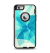 The Vector Abstract Shaped Blue Overlay V2 Apple iPhone 6 Otterbox Defender Case Skin Set