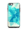 The Vector Abstract Shaped Blue Overlay V2 Apple iPhone 6 Plus Otterbox Symmetry Case Skin Set