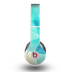 The Vector Abstract Shaped Blue Overlay V2 Skin for the Beats by Dre Original Solo-Solo HD Headphones