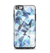 The Vector Abstract Shaped Blue Overlay V3 Apple iPhone 6 Plus Otterbox Symmetry Case Skin Set