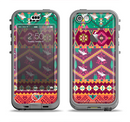 The Vector Aztec Birdy Pattern Apple iPhone 5c LifeProof Nuud Case Skin Set