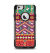 The Vector Aztec Birdy Pattern Apple iPhone 6 Otterbox Commuter Case Skin Set