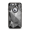 The Vector Black & White Abstract Connect Pattern Apple iPhone 6 Otterbox Defender Case Skin Set
