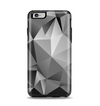 The Vector Black & White Abstract Connect Pattern Apple iPhone 6 Plus Otterbox Symmetry Case Skin Set
