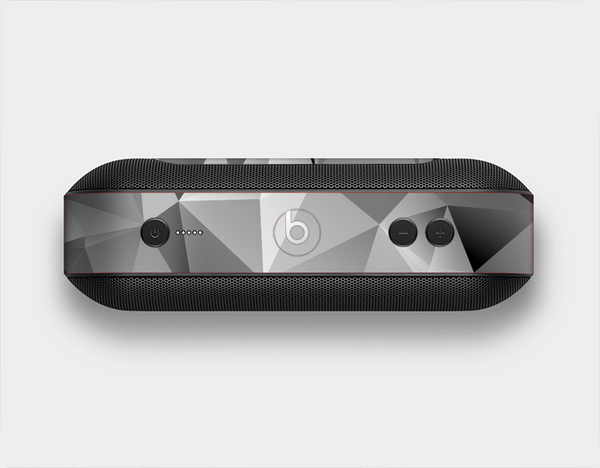 The Vector Black & White Abstract Connect Pattern Skin Set for the Beats Pill Plus