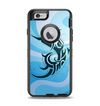 The Vector Blue Abstract Fish Apple iPhone 6 Otterbox Defender Case Skin Set