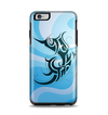 The Vector Blue Abstract Fish Apple iPhone 6 Plus Otterbox Symmetry Case Skin Set