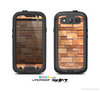 The Vector Brick Wall Slabs Skin For The Samsung Galaxy S3 LifeProof Case