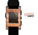The Vector Brick Wall Slabs Skin for the Pebble SmartWatch