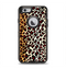 The Vector Brown Leopard Print Apple iPhone 6 Otterbox Defender Case Skin Set