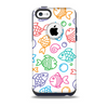 The Vector Color-FIsh Skin for the iPhone 5c OtterBox Commuter Case