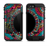 the vector colored aztec pattern with black connect point  iPhone 6/6s Plus LifeProof Fre POWER Case Skin Kit