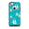 The Vector Colored Sailboats  Skin for the iPhone 5c OtterBox Commuter Case