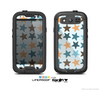 The Vector Colored Starfish V1 Skin For The Samsung Galaxy S3 LifeProof Case