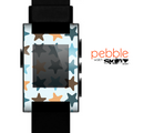 The Vector Colored Starfish V1 Skin for the Pebble SmartWatch