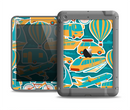 The Vector Colored Transportation Clipart Apple iPad Air LifeProof Fre Case Skin Set