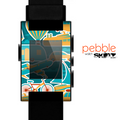 The Vector Colored Transportation Clipart Skin for the Pebble SmartWatch