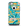The Vector Colored Transportation Clipart Skin for the iPhone 5c OtterBox Commuter Case